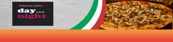 Day and Night Pizza Bundbanner